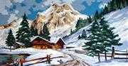 Winter View - Grafitec Tapestry Canvas
