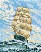 Under Full Sail - Grafitec Tapestry Canvas