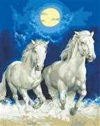 Grafitec Moonlight Gallop Tapestry Canvas