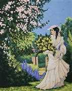 Garden Stroll - Grafitec Tapestry Canvas