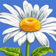 Grafitec Sunshine Daisy Tapestry Canvas