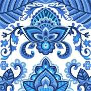 China Blue - Grafitec Tapestry Canvas