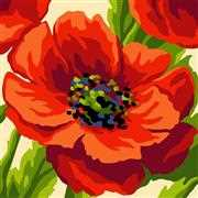 Grafitec Summer Poppy Tapestry Canvas