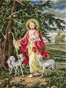 The Lord is Our Shepherd - Grafitec Tapestry Canvas