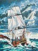 Stormy Seas - Grafitec Tapestry Canvas
