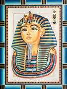 King Tutankhamun - Grafitec Tapestry Canvas