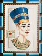 Queen Nefertiti - Grafitec Tapestry Canvas