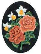 Grafitec Daffodils and Roses Tapestry Canvas