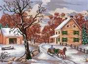 Winter - Grafitec Tapestry Canvas