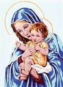 Madonna and Child - Grafitec Tapestry Canvas