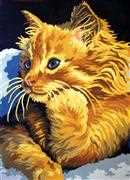 Golden Kitten - Grafitec Tapestry Canvas