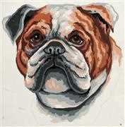 Bulldog - Grafitec Tapestry Canvas