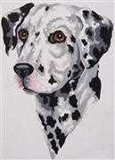 Dalmatian - Grafitec Tapestry Canvas