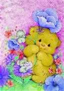Teddy Hug - Grafitec Tapestry Canvas