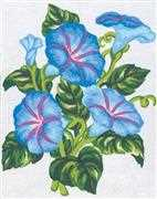 Periwinkles - Grafitec Tapestry Canvas
