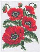Poppies - Grafitec Tapestry Canvas