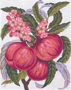 Apples and Blossom - Grafitec Tapestry Canvas