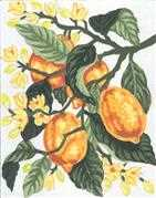 Grafitec Lemons Tapestry Canvas