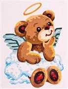 Grafitec Teddy Angel Tapestry Canvas