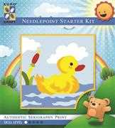 Paddling Duck - Grafitec Tapestry Kit