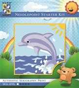 Sunrise Dolphin - Grafitec Tapestry Kit