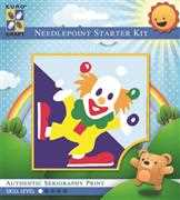 Juggling Clown - Grafitec Tapestry Kit