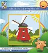 Traditional Windmill - Grafitec Tapestry Kit