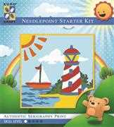 Sunny Lighthouse - Grafitec Tapestry Kit