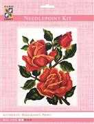 Orange Roses - Grafitec Tapestry Kit