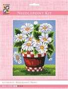 White Daisies - Grafitec Tapestry Kit