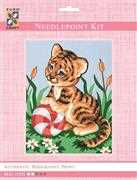 Baby Tiger - Grafitec Tapestry Kit