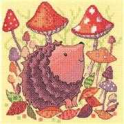 Heritage Hedgehog Cross Stitch Kit