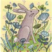 Heritage Hare Cross Stitch Kit