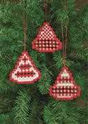 Permin Hardanger Ornaments 2 Embroidery Kit