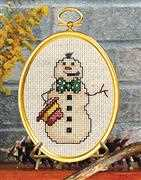 Smokin' Snowman - Janlynn Cross Stitch Kit