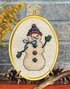 Friendly Snowman - Janlynn Cross Stitch Kit