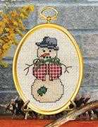 Dapper Snowman - Janlynn Cross Stitch Kit
