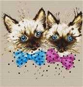 Cats - Luca-S Cross Stitch Kit