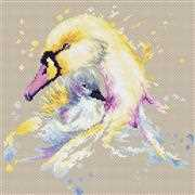 Luca-S Swans Cross Stitch Kit