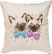 Cats Pillow - Luca-S Cross Stitch Kit