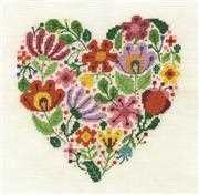 Bouquet of Love - DMC Cross Stitch Kit