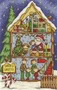 Santa's Grotto - DMC Cross Stitch Kit