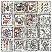 Zenbroidery Printed Fabric - 12 Days of Christmas - Design Works Crafts Embroidery Fabric