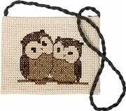 Owls Shoulder Bag - Luca-S Cross Stitch Kit