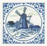 Delft Windmill - Lanarte Cross Stitch Kit