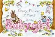Bunny Love Girl - Bothy Threads Cross Stitch Kit