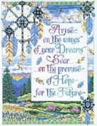 Arise on the Wings - Design Works Crafts Cross Stitch Kit