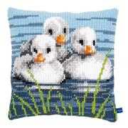 Ducklings Cushion - Vervaco Cross Stitch Kit