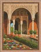 RIOLIS The Palace Garden Cross Stitch Kit