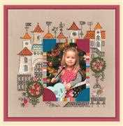 RIOLIS Princess Castle Photo Frame Cross Stitch Kit